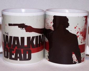 The Walking Dead mug Father's Day gift for him zombie gift for him zombie mug for her gift for him 18th birthday gift