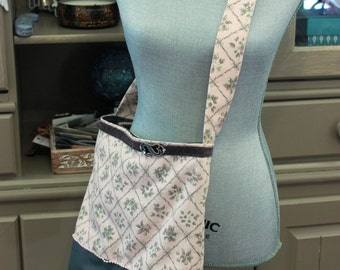 Pink and Gray Tote