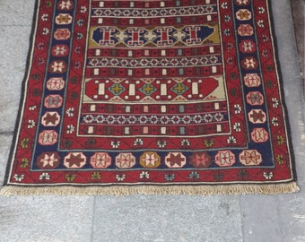 kurdish kilim,embroidery work,wool on wool,special handmade kilim 103x 80 cm (''3.3x ''2.6 feet)