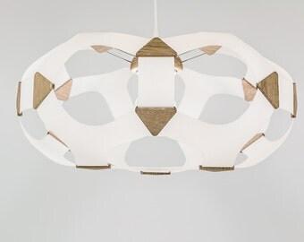 design chandelier suspended luminaire Alveole