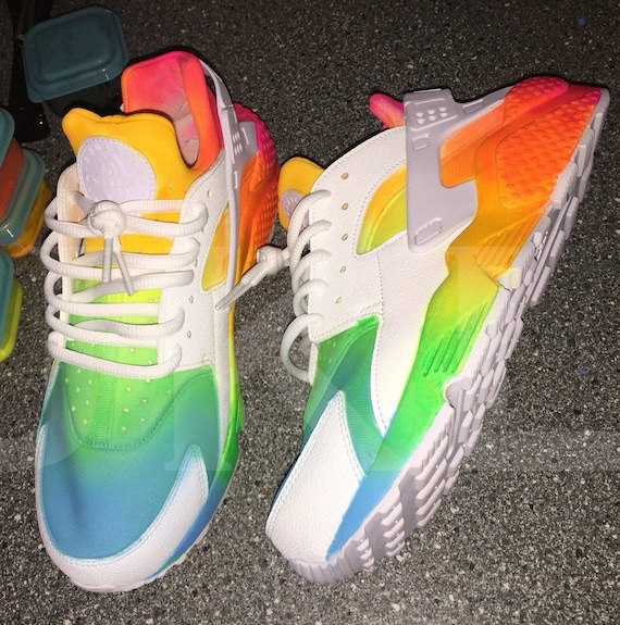 nike air yeezy neon rainbow Black lacesremovable rubber insole and fabric  liningwhite rubber sole. Find the Nike Alpha Huarache ...