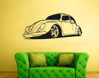 rvz1618 Wall Decal Vinyl Sticker Decals Car Auto Automobile Bug Slug Surf