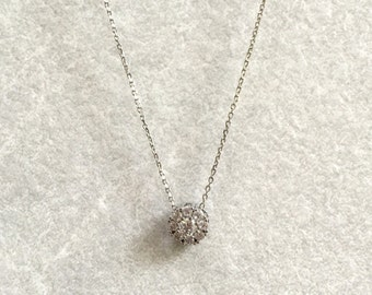Layered Crystal Necklace ~ Silver/Gold/RoseGold