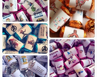 Personalised Themed Candy Sweets