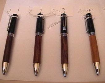 Chicago Ballpoint Pens Chrome & 24k Gold