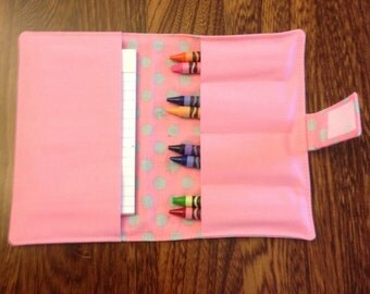 Girls Crayon Wallets