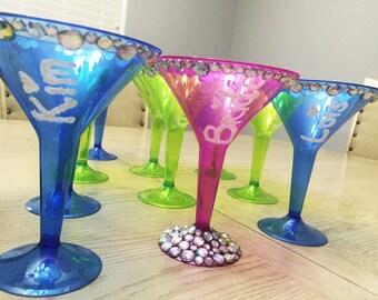 Martini Glasses (Set of 10)