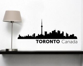 Toronto City Skyline Vinyl Decal