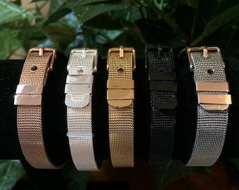 Skinny Metal Mesh Bracelet