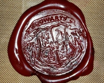 harry potter hogwarts acceptance letter wax seal only
