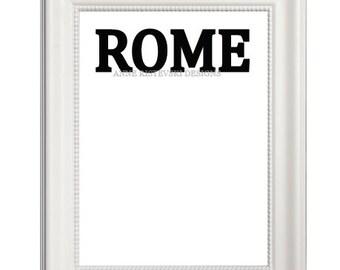 Rome, Rome Prints, Rome Art, Rome Artwork, Rome Wall Art, Rome Printable Art, Rome Printables, City Art, City Prints, City Artwork, Artwork