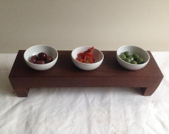 Australian hardwood serving tray