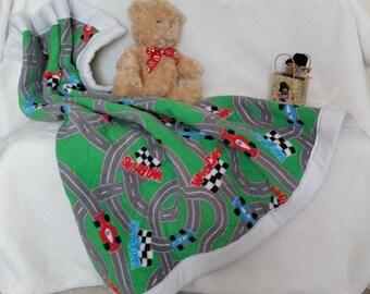 My Nascar Buddies - Baby Blanket - Free Shipping