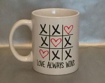 Love Always Wins Mug