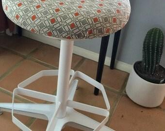 Mid century metal stools