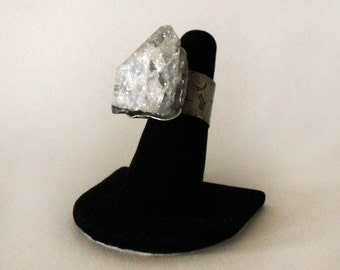 Genuine Crystal Quartz Ring