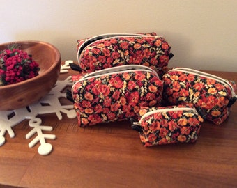 Travel/Cosmetic Bags  Set of 4