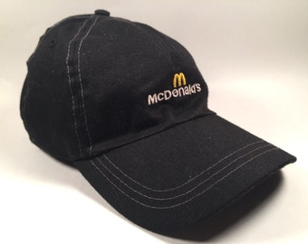Vintage McDonalds Employees Cap