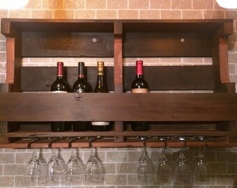 Reclaimed Redwood Wine rack