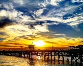 Pierside Sunset