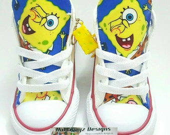 SpongeBob Converse or Levi's