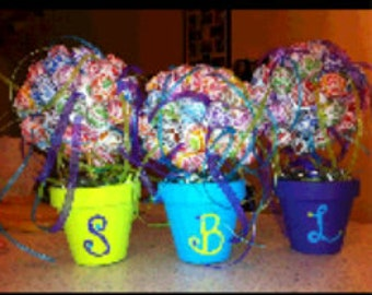 Handcrafted Personalized Lollipop Tree 24 inch