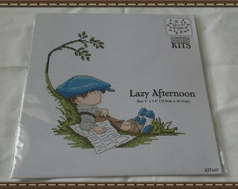 Lili of the valley counted cross stitch chart - Lazy Afternoons