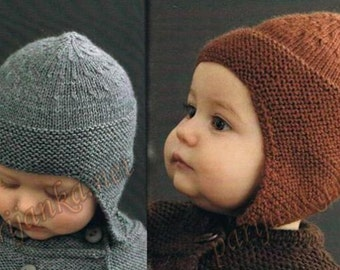 Baby hats, knitted baby hats, hand-knitted