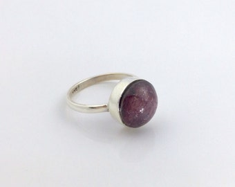 Ruby ring - FREE INTERNATIONAL SHIPPING