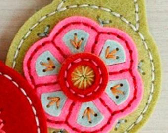 Monogram Keychain, Felt Keychain, Handmade Keychain,  Monogram Key Ring, Key Ring, Felt Key Ring, Handmade Key Ring