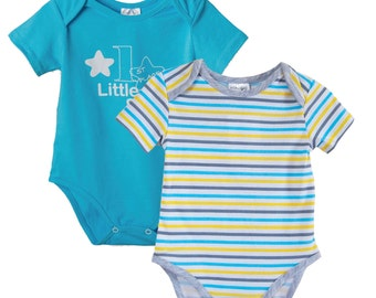 Bodysuit for Baby Boy - Set Two Pieces