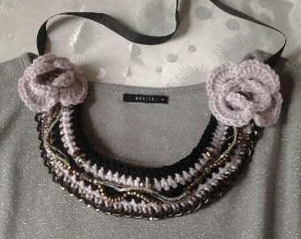 crosched neklace