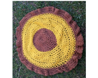 Sunflower Crochet Altar Doily