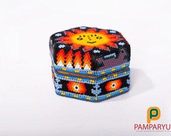 Jewelry box Huichol