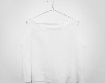 Tank top linen