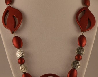 "21"" Red Necklace"