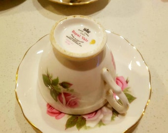 Bone china - cup and saucer
