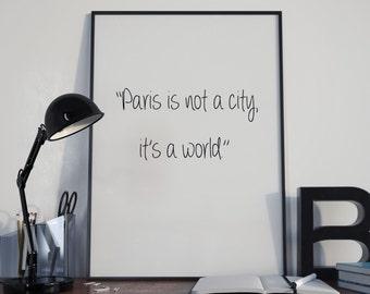 Love Paris Quote Paris Instant Prints Paris Bedroom Art Glam Bedroom Art