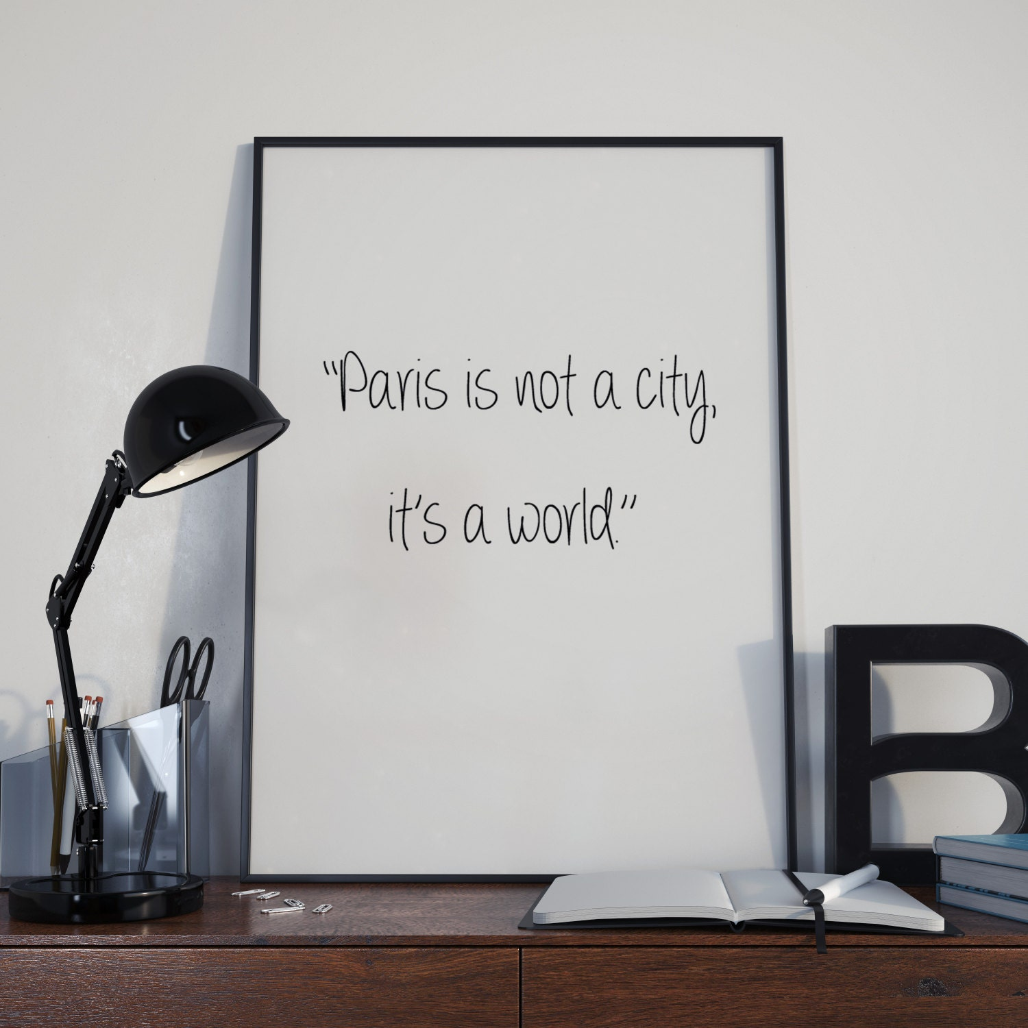 love paris quote paris instant prints paris bedroom art glam bedroom art - Bedroom Decor Tumblr