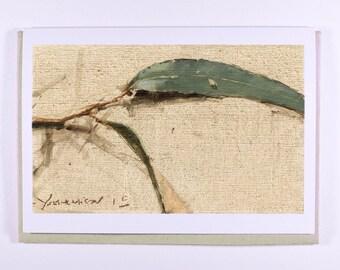 Leaf Study Gift Card #1