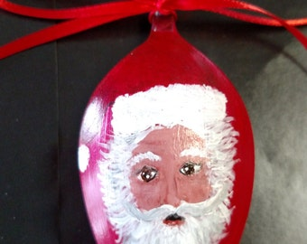 Santa painted Spion