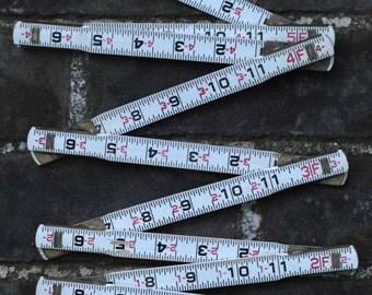 Vintage folding engineer's ruler