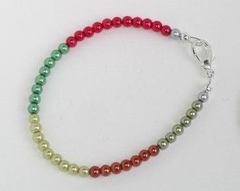 Candy Crush stacking bracelet, multicoloured
