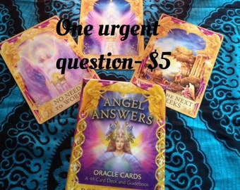 One urgent question