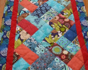 Table Runner, Patchwork Table runner, Table Runner, Quilted Table Runner