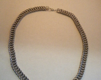 Silver coloured Half Persian necklace