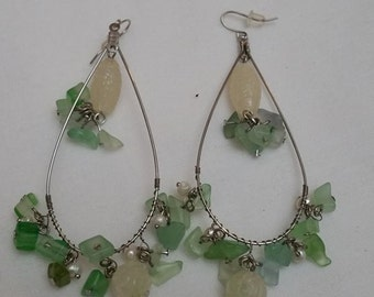 Teardrop Dangle Earrings