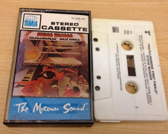 "Stevie Wonder ""Fulfillingness' First Finale"" Vintage Cassette Tape in good shape"