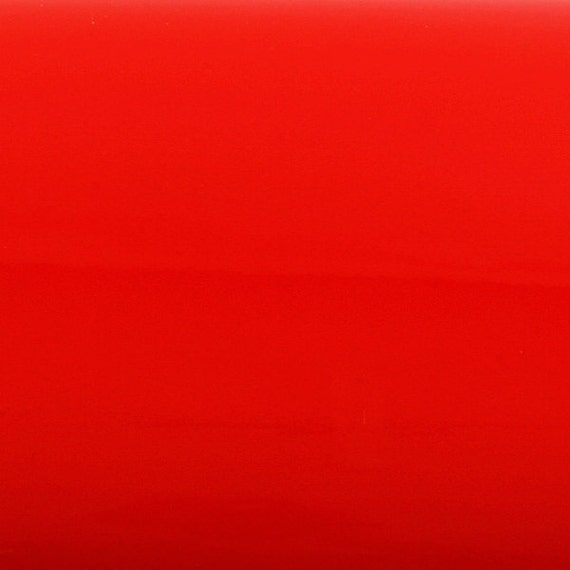 Peel stick flame retardant backsplash high glossy solid red for Solid color peel and stick wallpaper