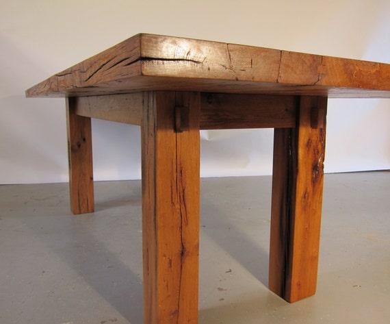Reclaimed White Oak Dining Table : il570xN887271549jkjs from www.etsy.com size 570 x 473 jpeg 40kB